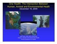 animal - One Health Initiative