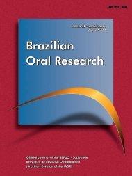 Brazilian Oral Research Brazilian Oral Research Brazilian Oral