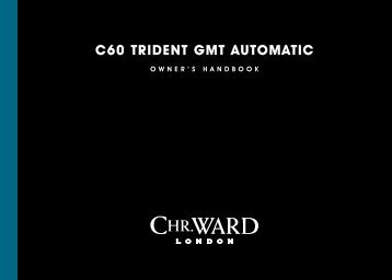 C60 trident GMt AUtOMAtiC - Christopher Ward