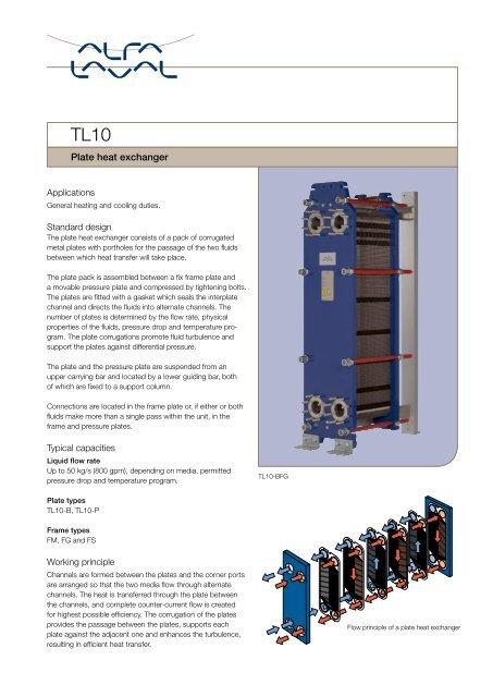 TL10 - Plate heat exchanger - Alfa Laval