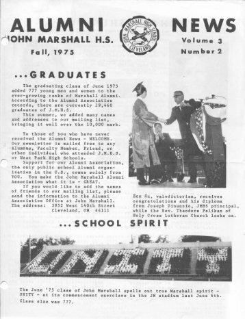 ALUMNI - John Marshall Alumni Association