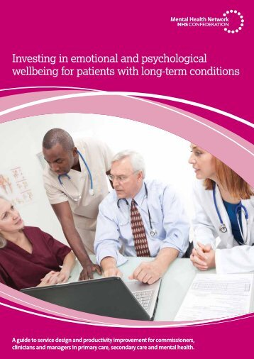 Investing in emotional and psychological wellbeing for patients with long-tern conditions 18 April final for website