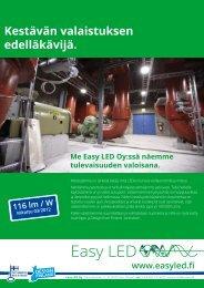 Lataa yritysesite (PDF 0,5 Mb) - Easy Led