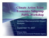 Modeling Overview - California Climate Change Portal