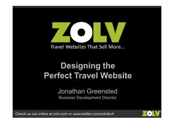 Designing the Perfect Travel Website
