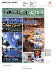 Vacation Agent Magazine