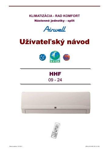 klimatizácia - rad komfort - KLIMAVEX as