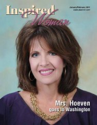 January February 2011 - Inspired Woman Magazine