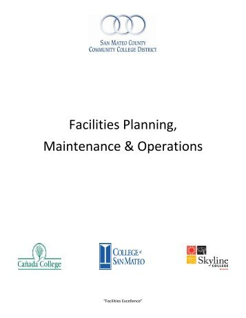 Facilities Planning & Operations Contacts List - San Mateo County ...
