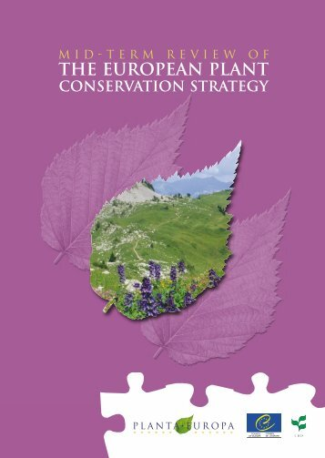 the european plant conservation strategy