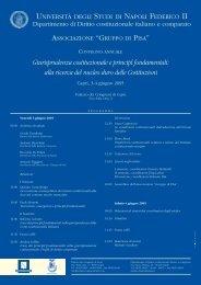 Giurisprudenza costituzionale e principi fondamentali - Giustamm.it