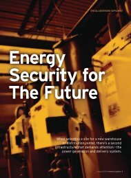 Energy Security for the Future - Inbound Logistics