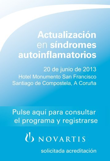 Actualización en Síndromes Autoinflamatorios