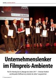 Manager des Jahres - Zoz Group - Zoz GmbH