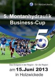 beim 5. Montanhydraulik Business-Cup am 15. Juni 2013 - Mbcup.de
