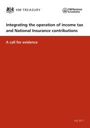 14-question call-for-evidence document - Taxation