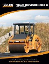 RODILLOS COMPACTADORES SERIE DV - Case Construction