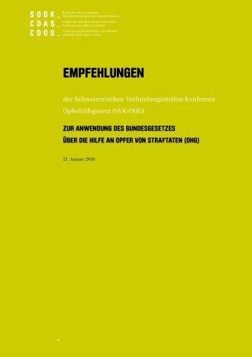 EmpfEhlungEn - SODK