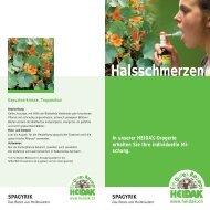 Halsschmerzen - Heidak AG