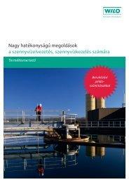 Nagy hatékonyságú megoldások a szennyvízelvezetés ...