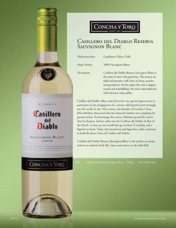 Casillero del Diablo Sauvignon Blanc - CMAA