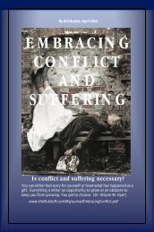 EMBRACING CONFLICT AND SUFFERING Is ... - The Flute Loft