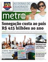 AS DONAS DO QUADRADO - Metro