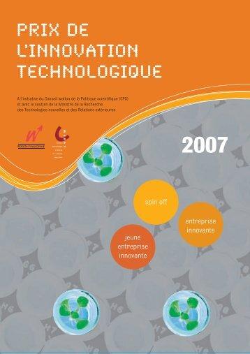 Prix de l'Innovation Technologique - Interface Entreprises-Université