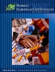 Burrill European Life Sciences - Dansk Biotek