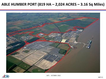 ABLE HUMBER PORT FACILITY