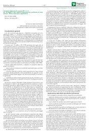 Circolare regionale 21 marzo 2011, n. 3