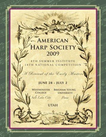 Artists - American Harp Society