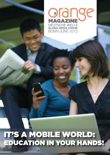 Mobile Phones: Future Devices For Africa - Orange Magazine