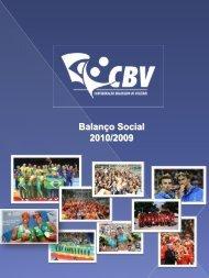 Balanço Social 2010/2009 - CBV