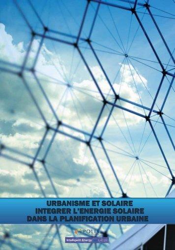 Urbanisme et solaire - polis