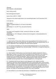 s-GRAVENHAGE Sector bestuursrecht Nevenzittingsplaats Haarlem ...