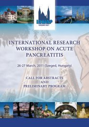 international research workshop on acute pancreatitis - Pancreas.org