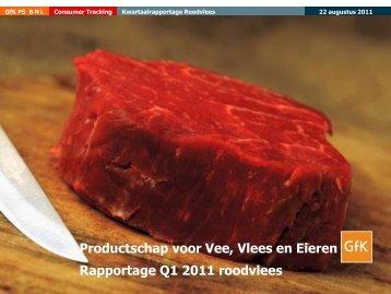Kwartaal 1 2011 - Productschappen Vee, Vlees en Eieren