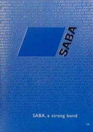 corporate brochure - Saba