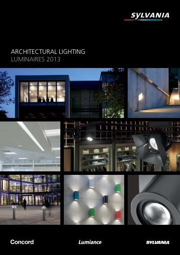ARCHITECTURAL LIGHTING LUMINAIRES 2013