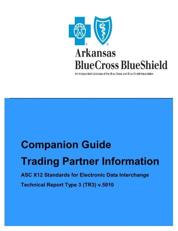 Companion Guide - Arkansas Blue Cross and Blue Shield