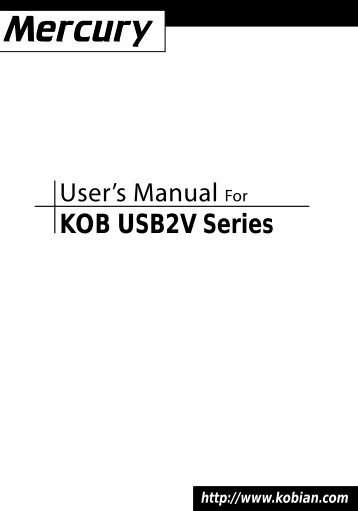 MERCURY KOB 810E FSFX AUDIO DRIVER FOR WINDOWS MAC