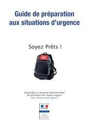 guide de preparation aux situations d'urgence.pdf - Préfecture de ...
