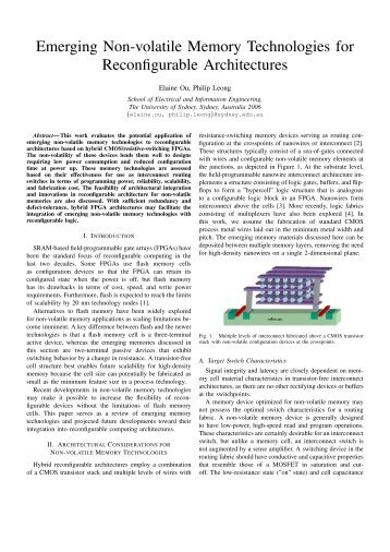 PDF Download Nonvolatile Semiconductor Memory Technology Free