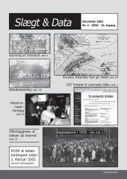 2002-4 slægt & data.pdf - DIS-Danmark