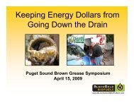 Keeping Energy Dollars from Going Down the Drain