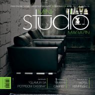 Glamur sa potpisom Cassina - Mini Studio Magazin