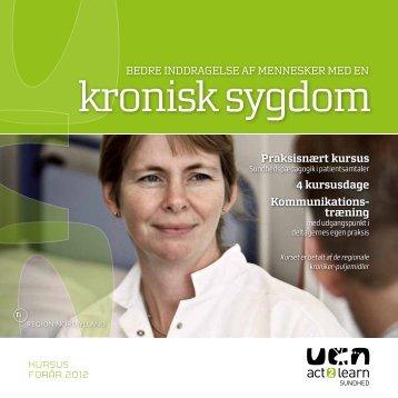 kronisk sygdom - Kronikerenheden
