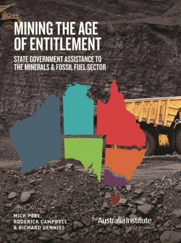 Mining the age of entitlement (1)