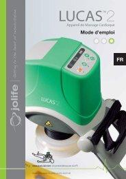 Mode d'emploi compression thoracique LUCAS 2 ... - Physio-Control